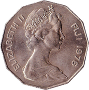 50 Cents - Elizabeth II (2nd portrait) -  obverse