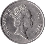 20 Cents - Elizabeth II (3nd portrait) -  obverse