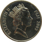 20 Cents - Elizabeth II (South Pacific Games) -  obverse