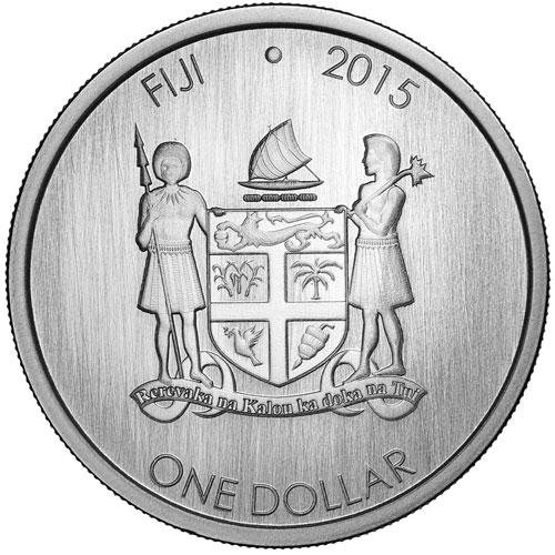 1 Dollar Fiji Iguana Fiji Numista