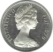1 Cent - Elizabeth II (2nd portrait; Silver Proof Issue) -  obverse