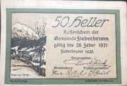50 Heller – obverse