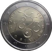 2 Euro (Parliament) – obverse