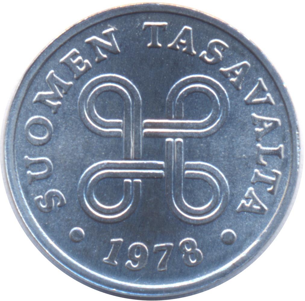 1 Penni - Finland – Numista