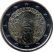 2 Euro (Frans Eemil Sillanpää) – obverse