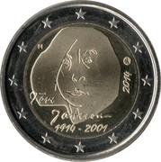2 Euro (Tove Jansson) – obverse
