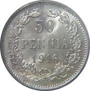 50 Penniä - Aleksandr II / III / Nikolai II -  reverse