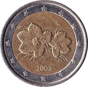 2 Euro (1st type, 1st map) -  obverse