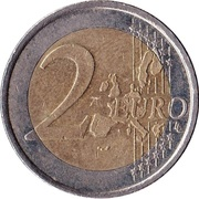 2 Euro (1st type, 1st map) -  reverse