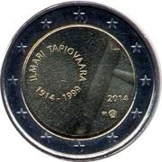 2 Euro (Ilmari Tapiovaara) – obverse