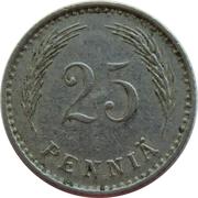 25 Penniä -  reverse