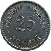 25 Penniä – reverse