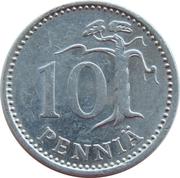 10 Penniä -  reverse