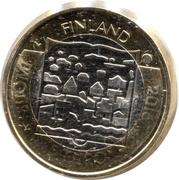 5 Euro (Presidents of Finland: Kaarlo Juho Stahlberg) -  obverse
