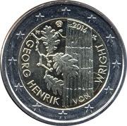 2 Euro (Georg Henrik von Wright) -  obverse