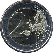 2 Euro (Georg Henrik von Wright) -  reverse