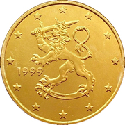50 Euro Cent (1st type, 1st map) -  obverse