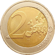 2 Euro (Declaration of Human Rights) – reverse