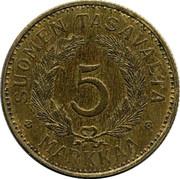 5 Markkaa -  reverse