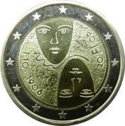 2 Euro (Universal Suffrage) – obverse