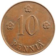 10 Penniä – reverse