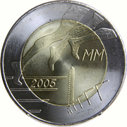 5 Euro (Helsinki Athletic Championship) -  obverse