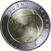 5 Euro (Helsinki Athletic Championship) -  reverse