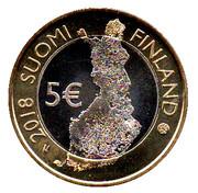 5 Euro (Finnish National Landscapes: Pallastunturi Fells) -  obverse