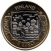 5 Euro (Presidents of Finland: M. H. Koivisto) – obverse