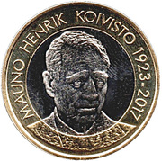 5 Euro (Presidents of Finland: M. H. Koivisto) – reverse
