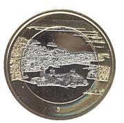 5 Euro (Finnish National Landscapes: Olavinlinna Castle and Lake Pihlajavesi – reverse