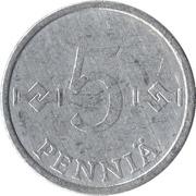5 Penniä -  reverse