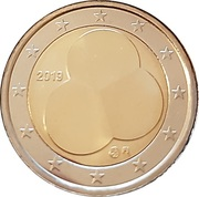 2 Euro (The Constitution Act of Finland) -  obverse