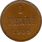 1 Penni - Nikolai II – reverse