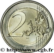 2 Euro (Treaty of Rome) – reverse