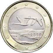 1 Euro (2nd type, 2nd map) -  obverse