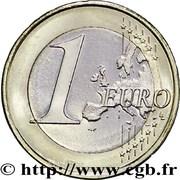 1 Euro (2nd type, 2nd map) -  reverse