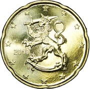 20 Euro Cent (2nd type, 2nd map) -  obverse