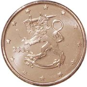 1 Euro Cent (1st type) -  obverse