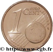 1 Euro Cent (1st type) -  reverse