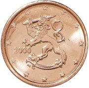 2 Euro Cent (1st type) -  obverse