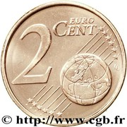 2 Euro Cent (2nd type) -  reverse