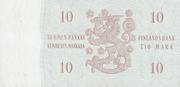 10 Markkaa – reverse