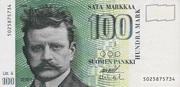 100 Markkaa Type 1986 Litt. A – obverse