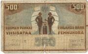 500 Markkaa – obverse