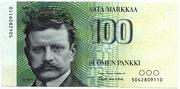 100 Markkaa – obverse
