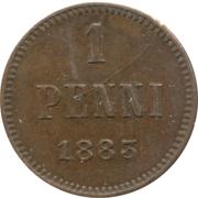 1 Penni - Aleksandr III – reverse