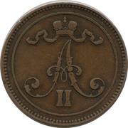 10 Penniä - Aleksandr II – obverse