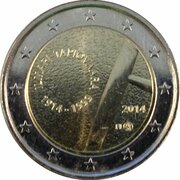 2 Euro (Ilmari Tapiovaara) -  obverse