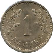 1 Markka – reverse